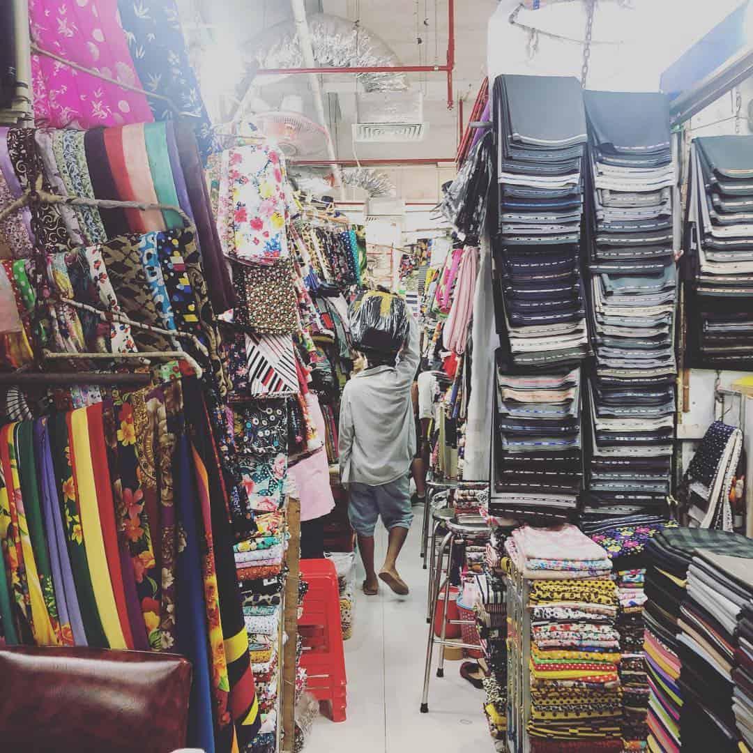 Shop in An Dong market