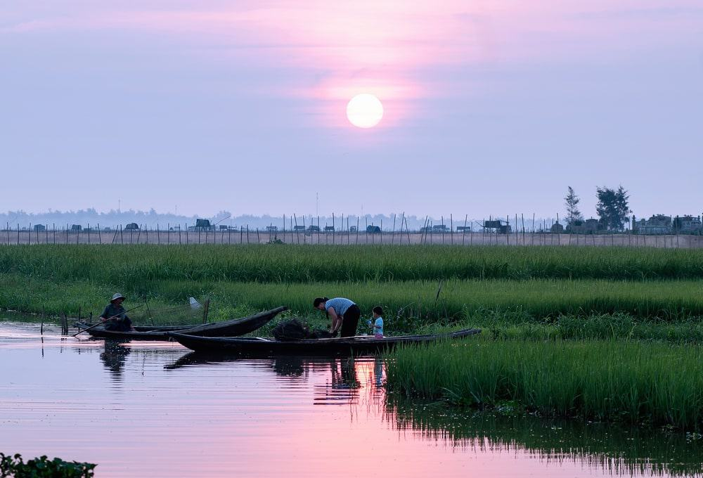 Tam Giang Lagoon Get to