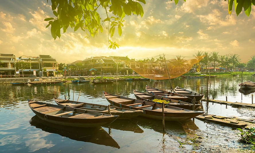 Thu Bon River Boat