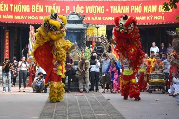Tran Temple Festival Activities