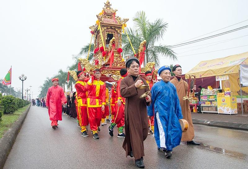 Tran Temple Festival Ceremony