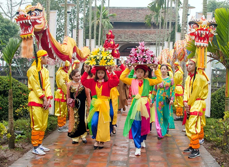 Tran Temple Festival Opening