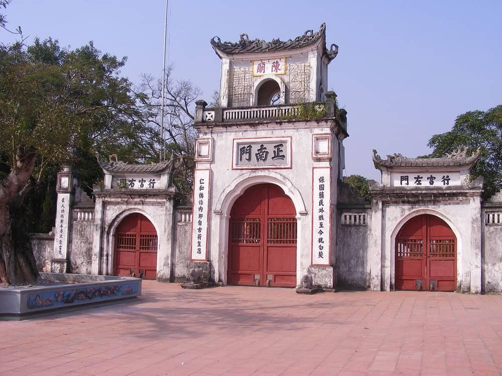 Tran Temple Festival Structure