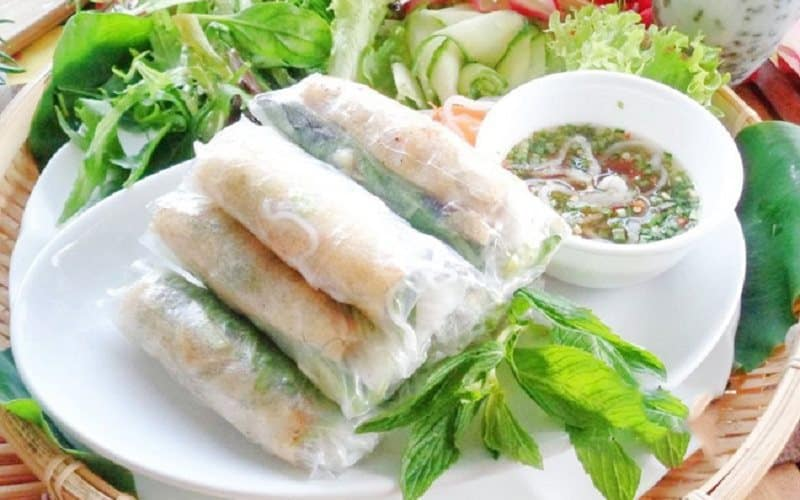 U Minh Thuong National Park Spring Roll