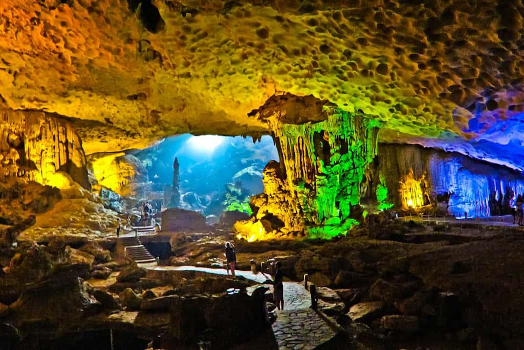 Visit Cave - Halong Bay in December