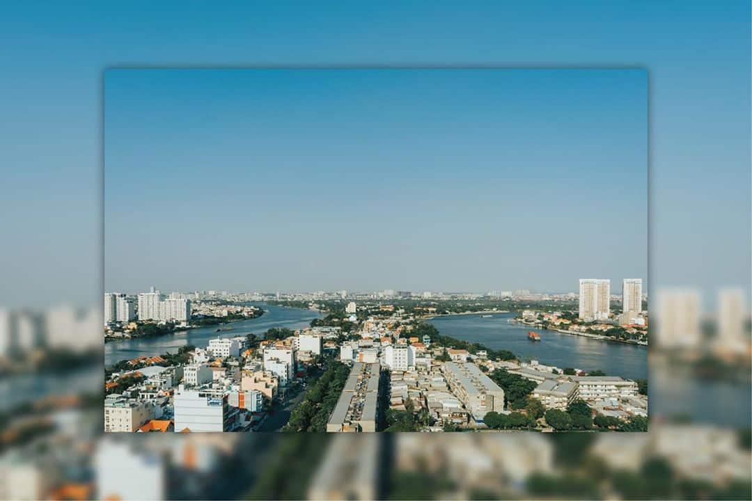 Visit Thanh Da peninsula near Saigon river