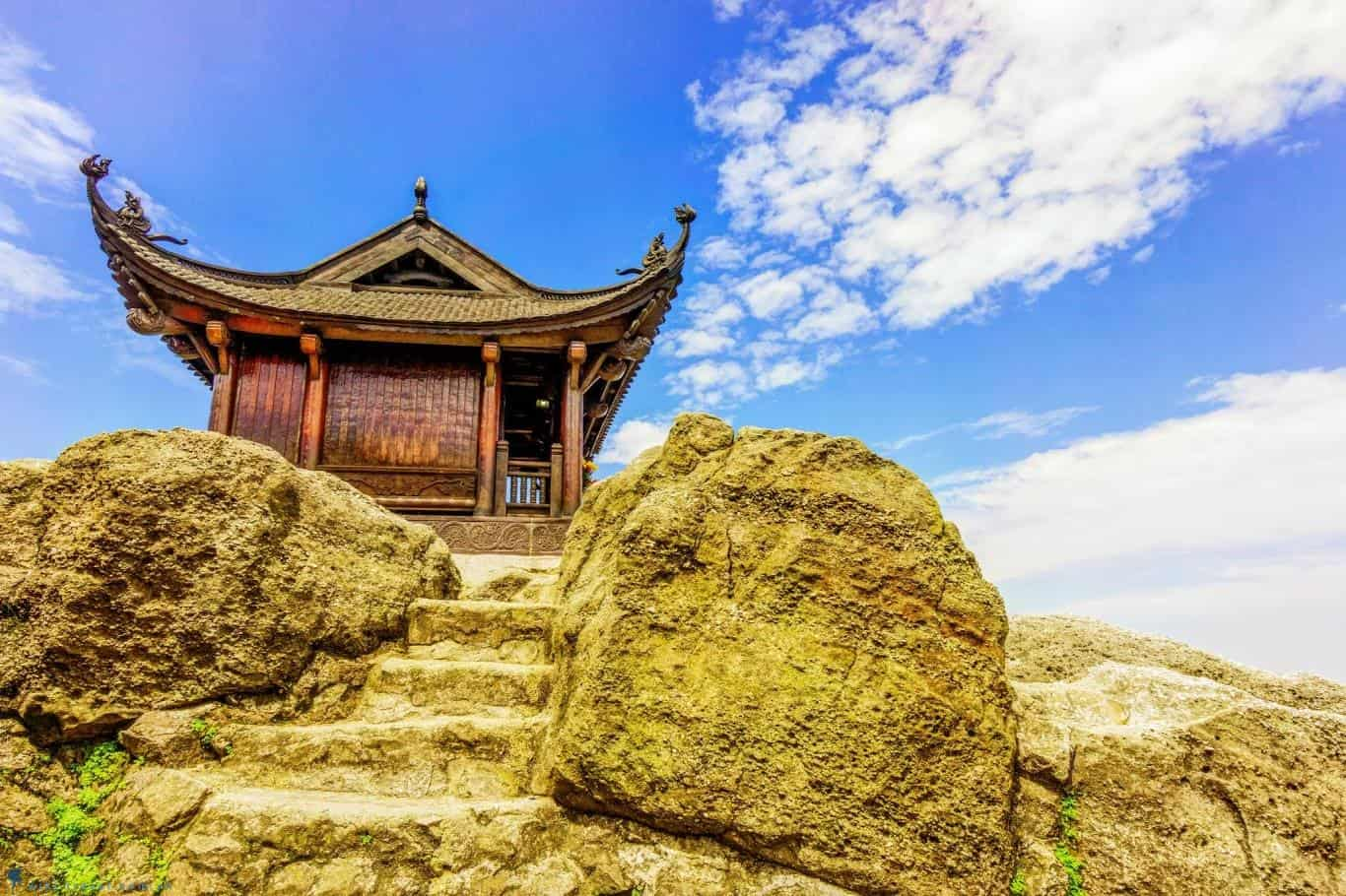 Yen Tu Festival Pagoda