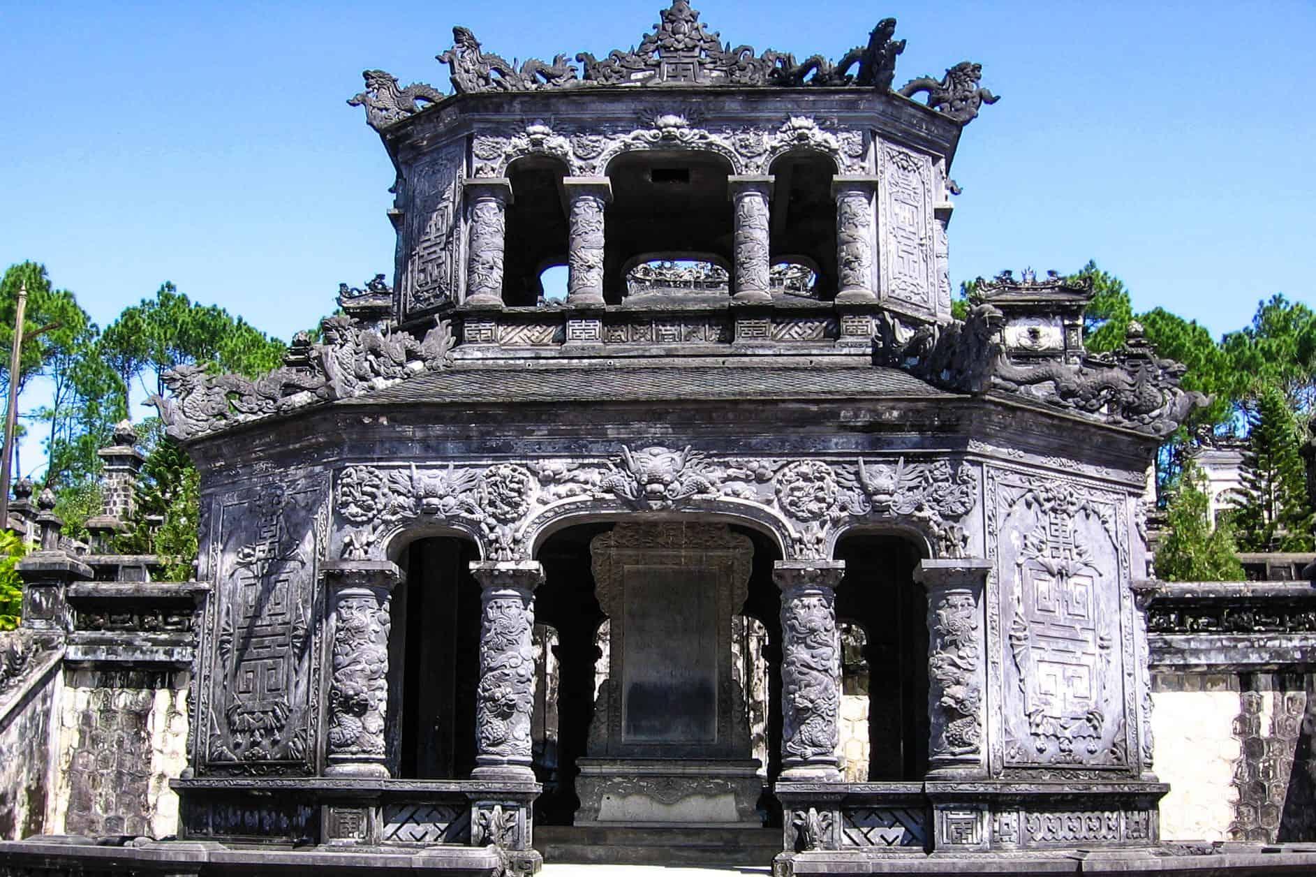 Architecture of Khai Dinh tomb