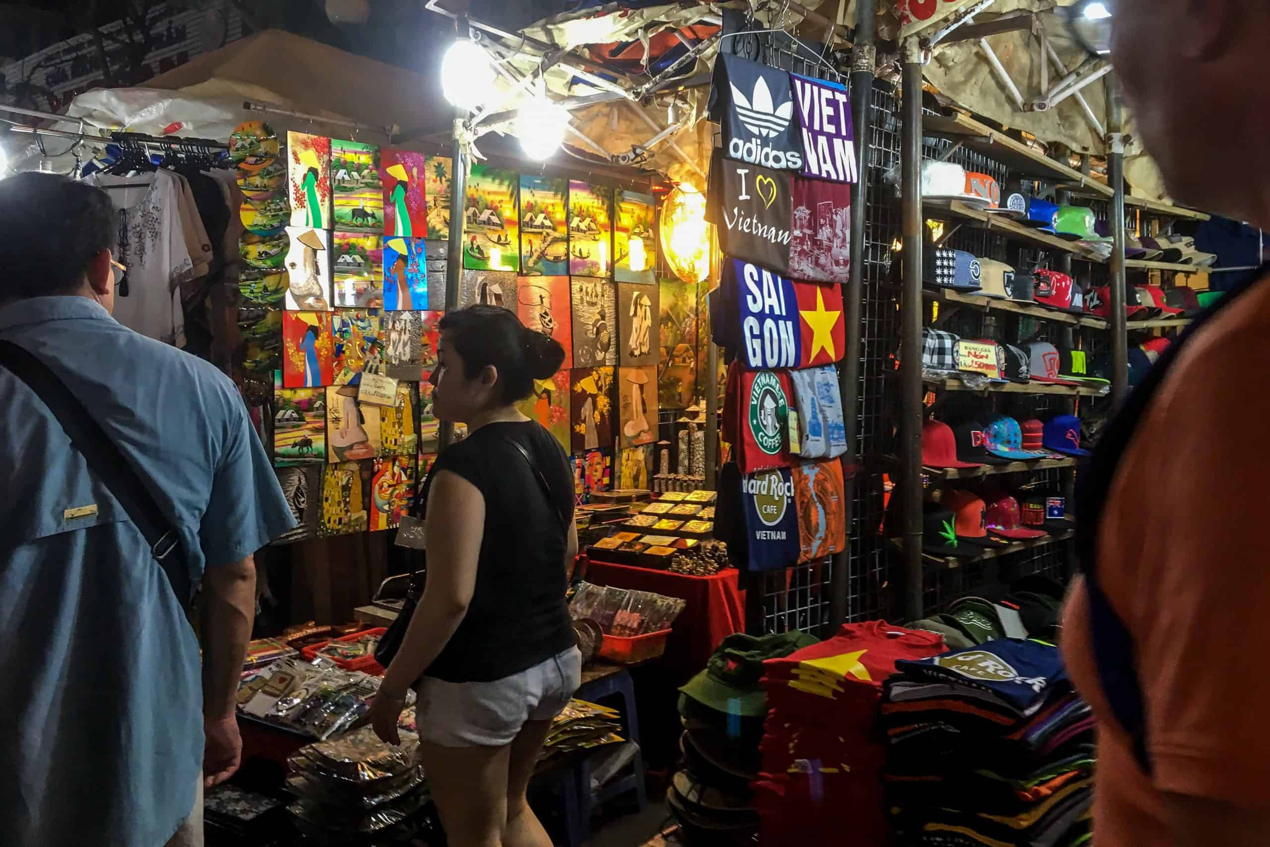 Ben Thanh night Market - night markets in Vietnam