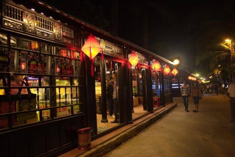 Best Nightlife in Hue Nguyen Dinh Chieu Walking Street
