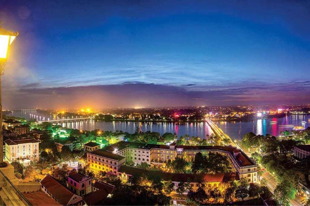 Best Nightlife in Hue Rooftop Cafe