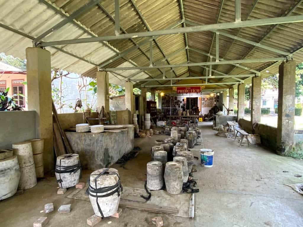 Ceramic in Phuoc Tich ancient village
