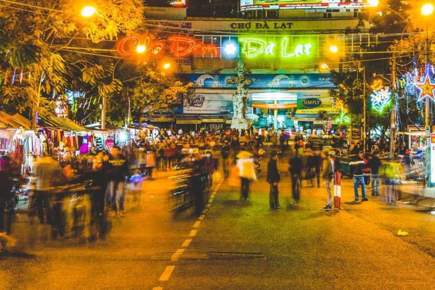Da Lat Night Market - Vietnam night markets