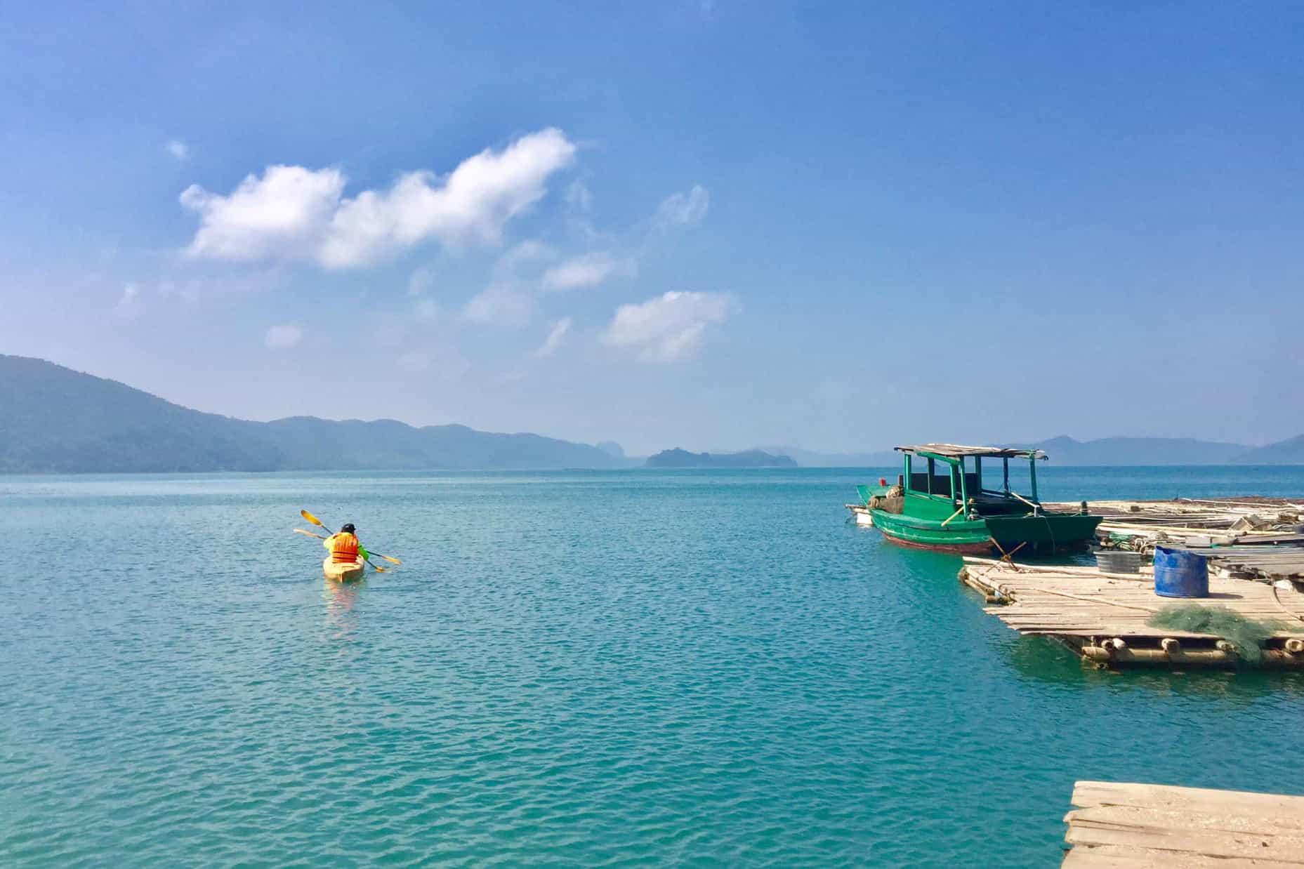 Highlights of Banh Sua Island