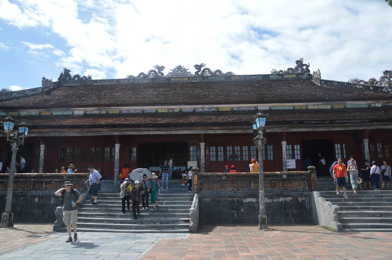 Architecture of Thai Hoa palace