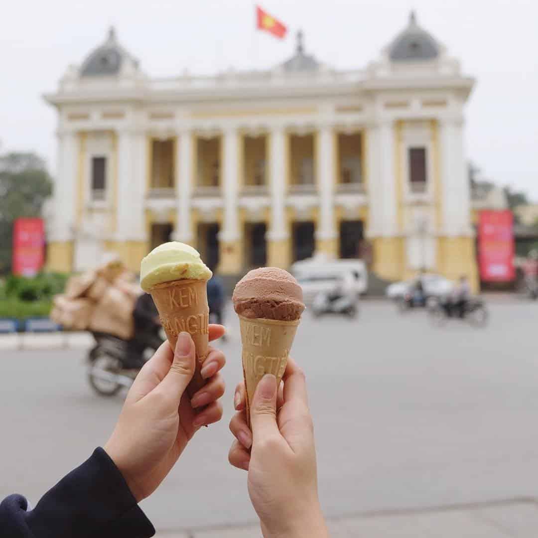 trang tien ice cream