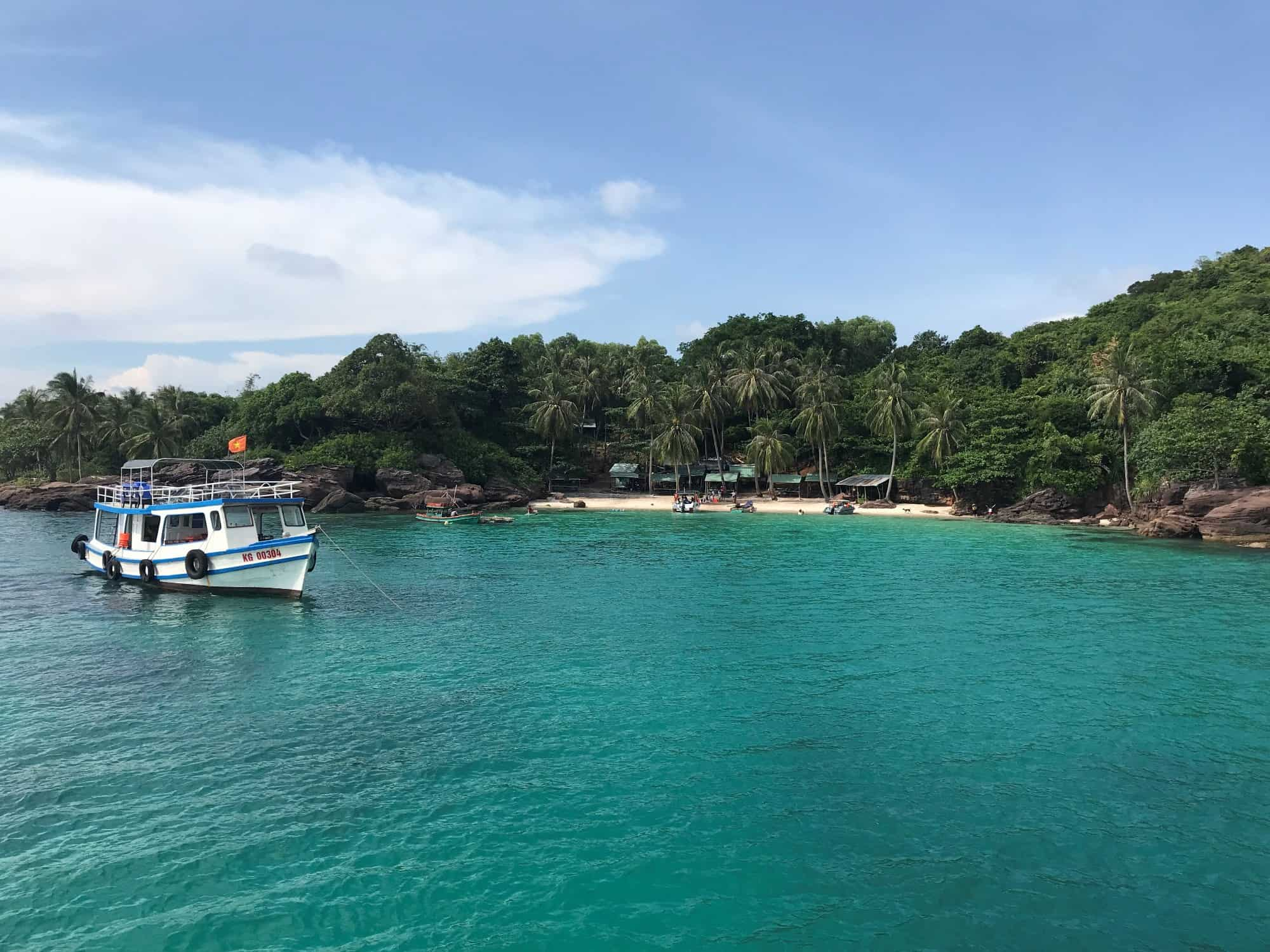 Phu Quoc Speedboat Tour to 4 Islands in the South