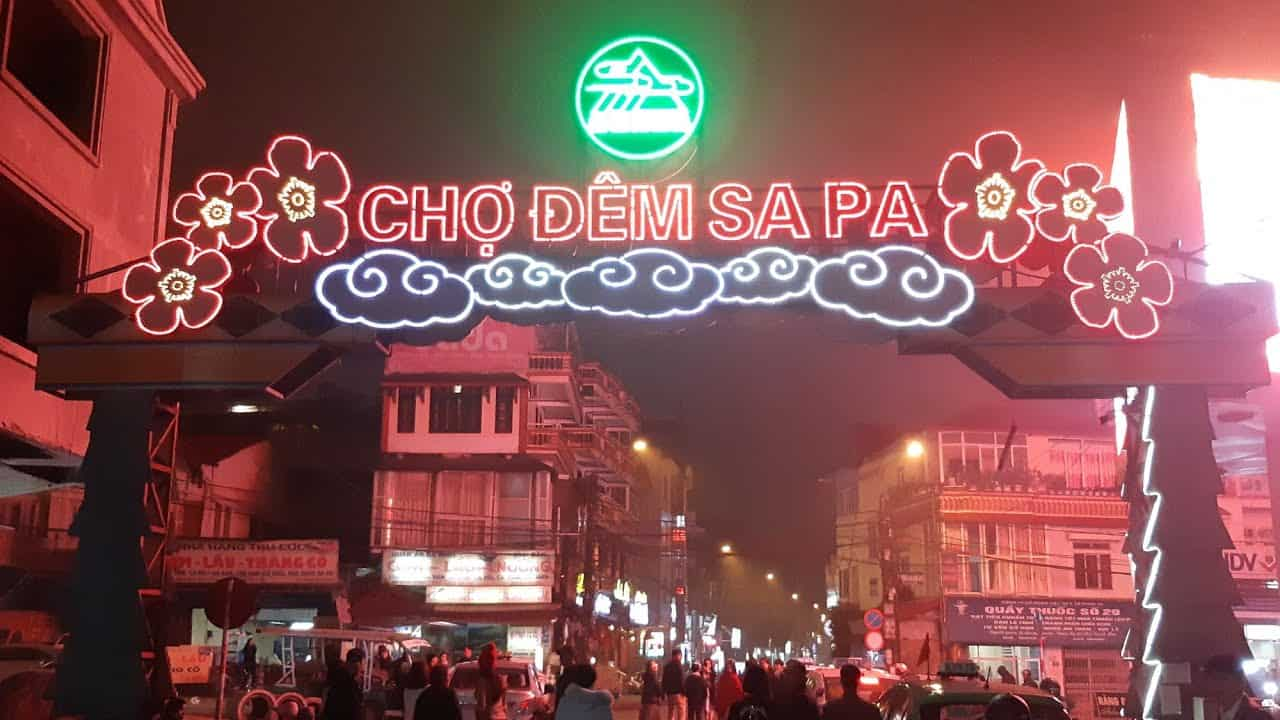 Sapa night market - nightmarkets in Vietnam