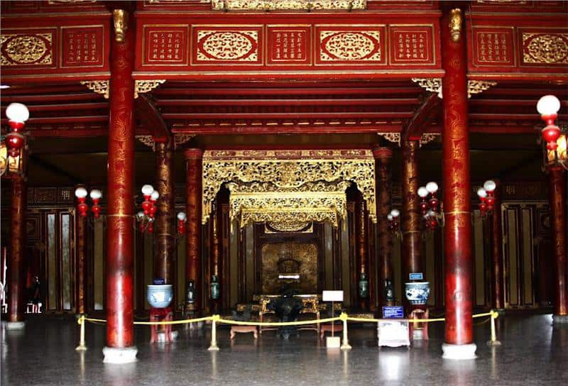 Structure of Thai Hoa palace