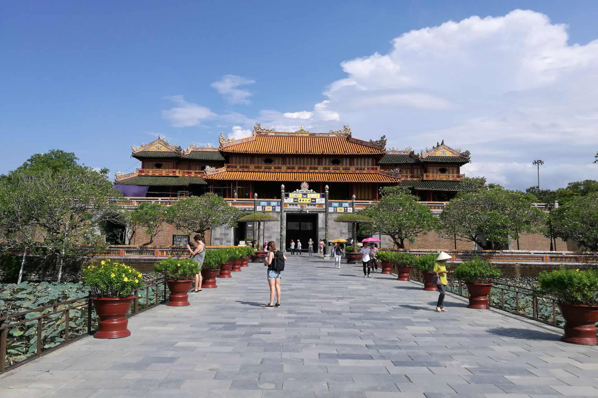 What to see and do in Thai Hoa palace
