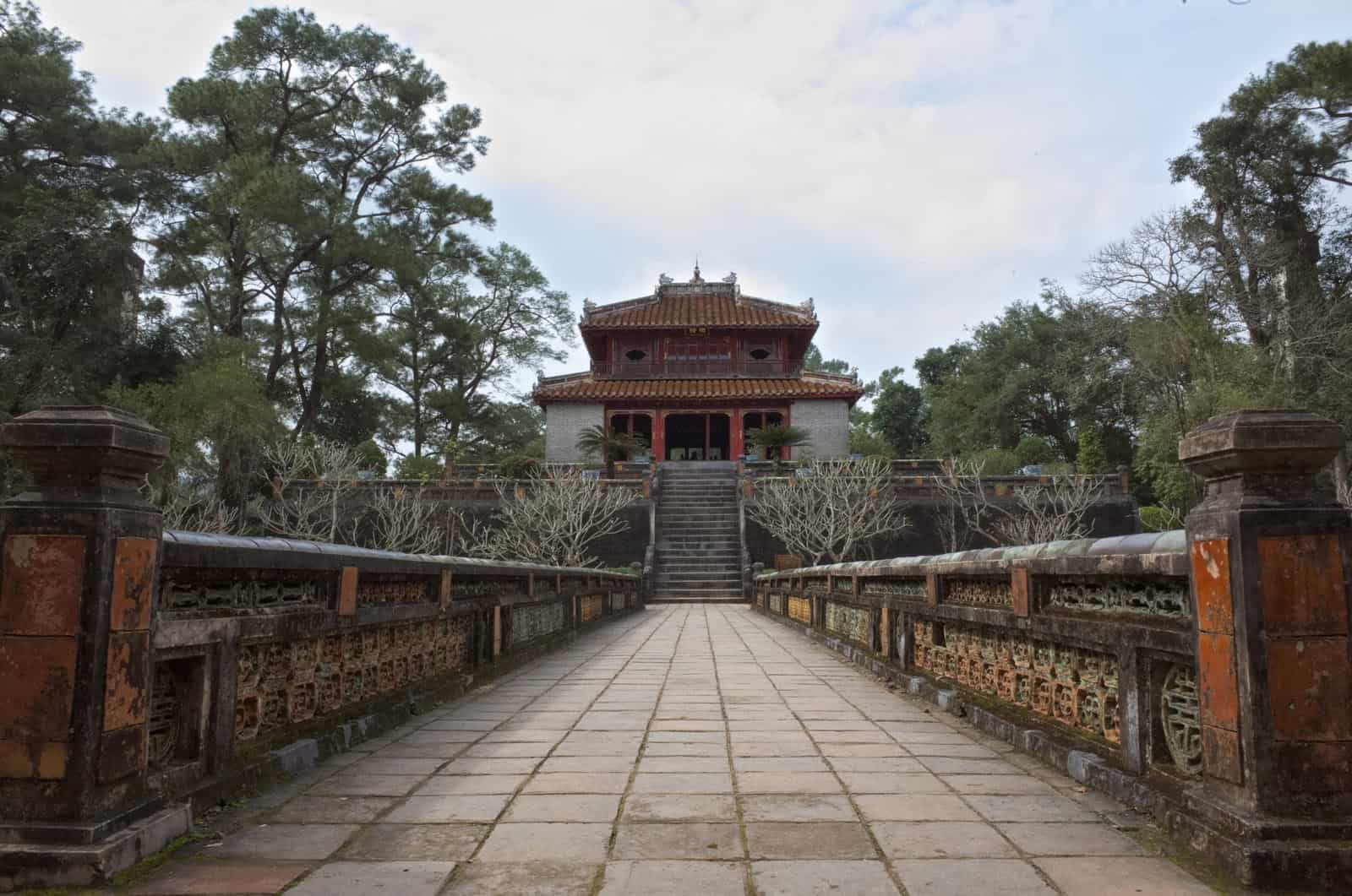 History of Thieu tri tomb