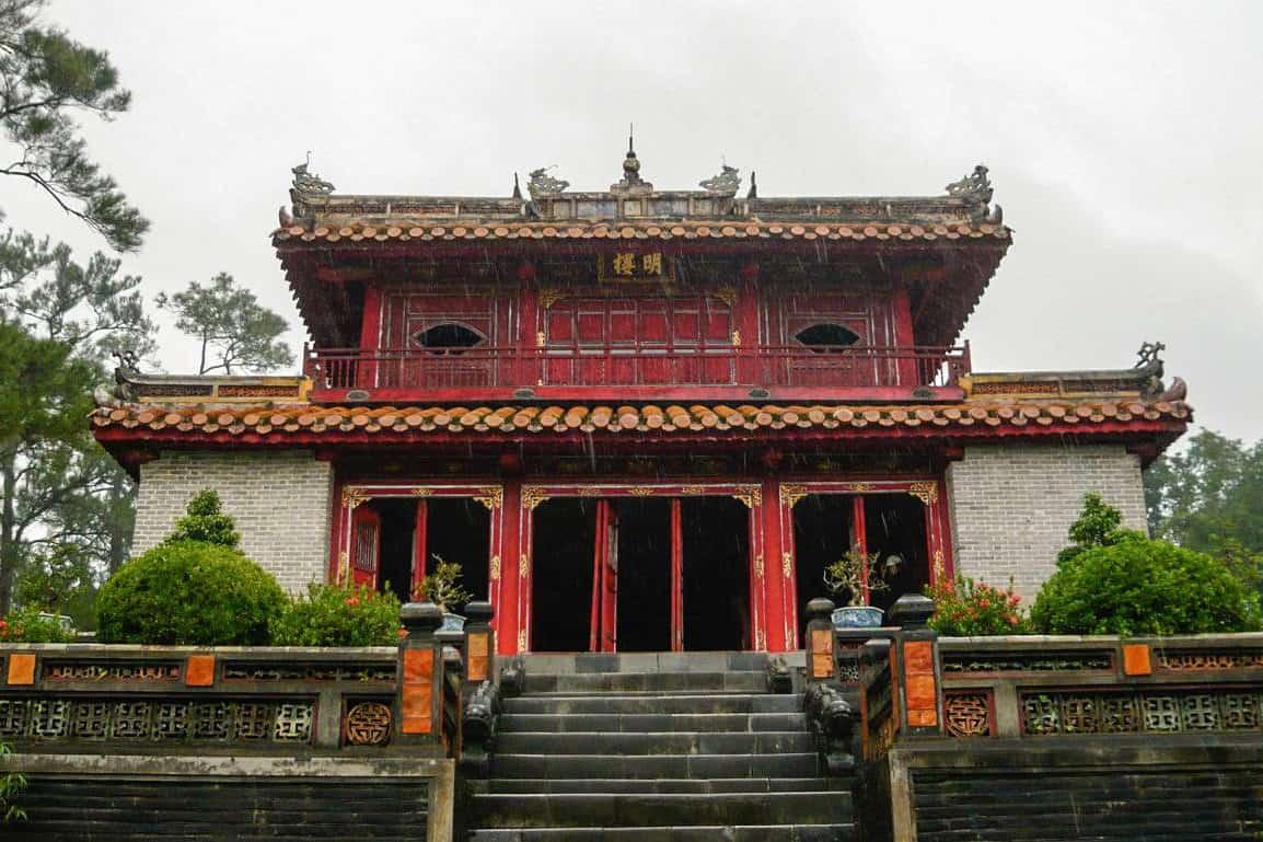 Minh Lau - Tomb of Minh Mang