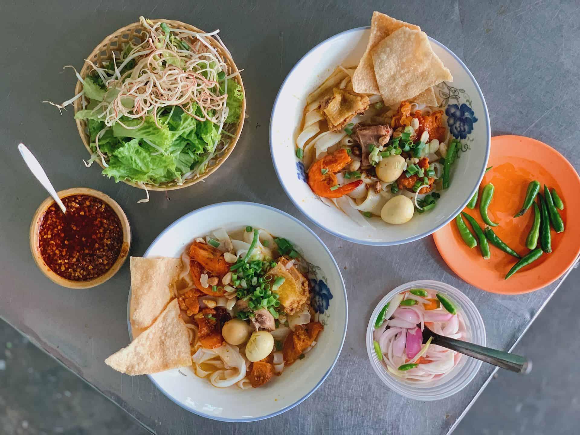Phong Nam Ancient Village Quang Noodles