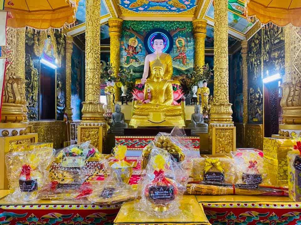 Pitu Khosa Rangsay Pagoda Kathina