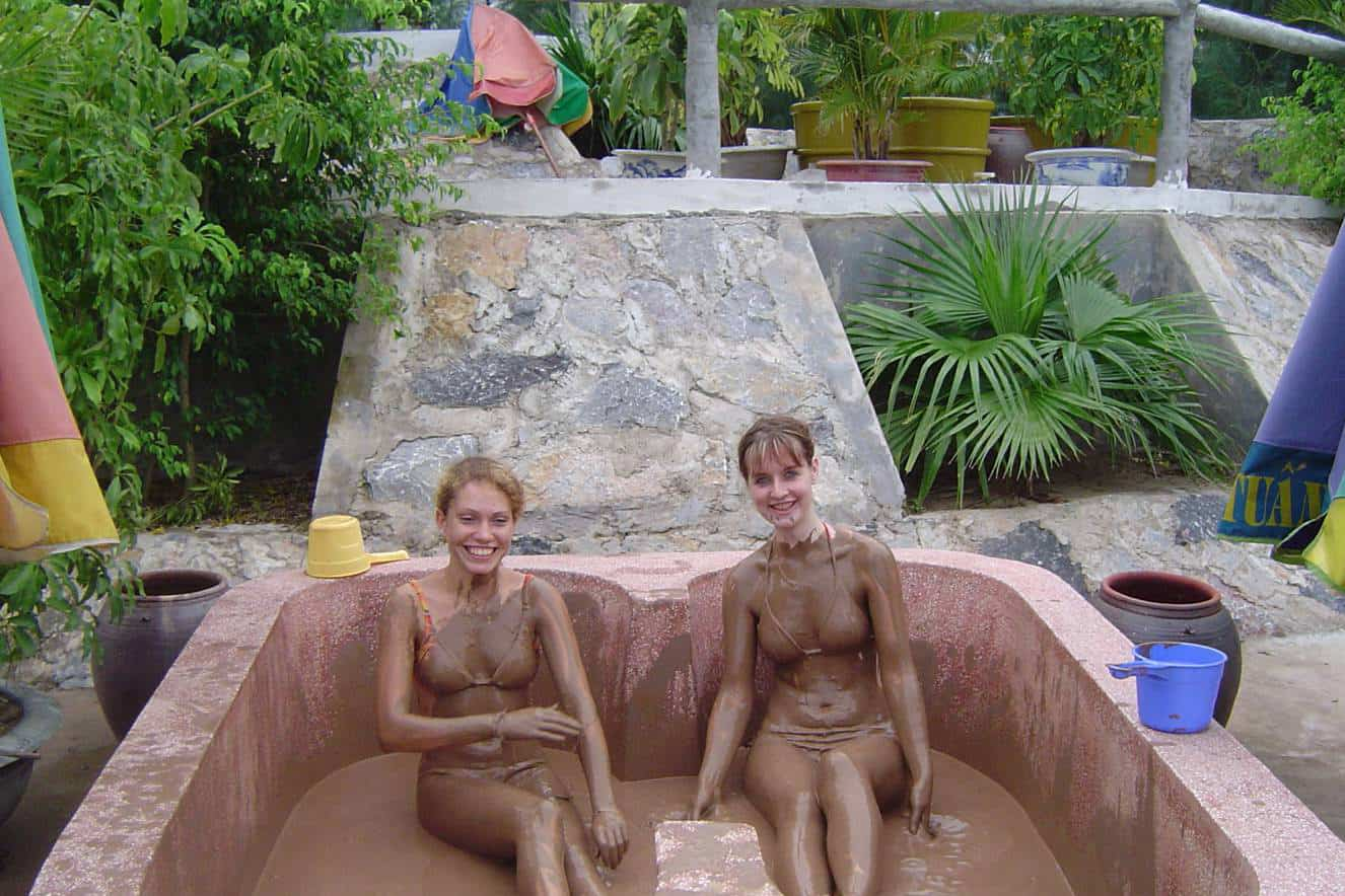 What to do in Kenh Ga floating village - Have a mud bath