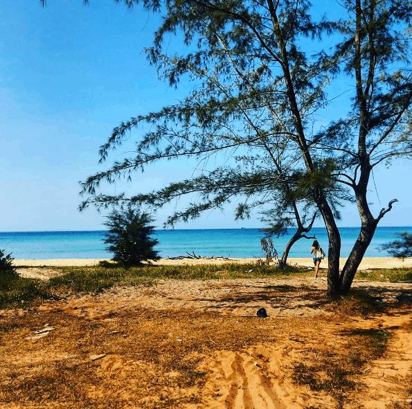 Beauty of Vung Bau beach