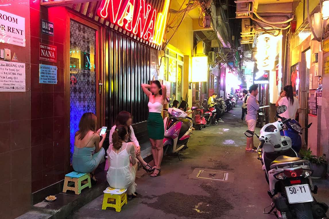 Bui Vien Street Red Light District