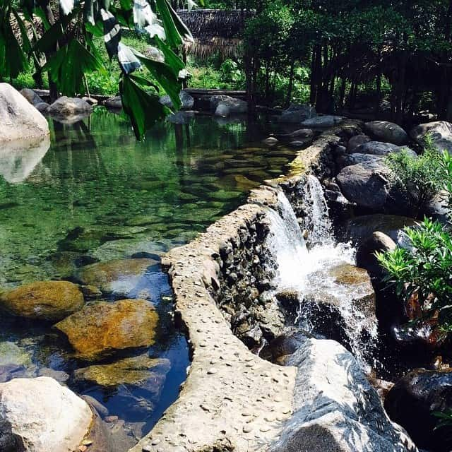 Camping in Luong Springs in Danang