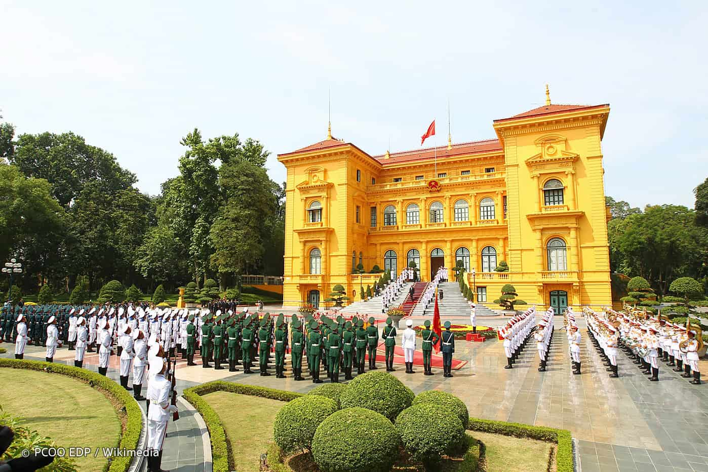 Highlights of Presidential palace