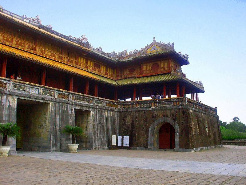 History of Ngo Mon gate (alotrip)