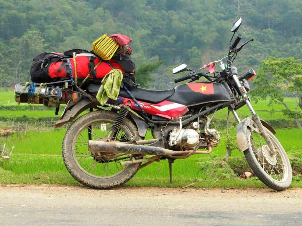 License for motorbike rental in Vietnam