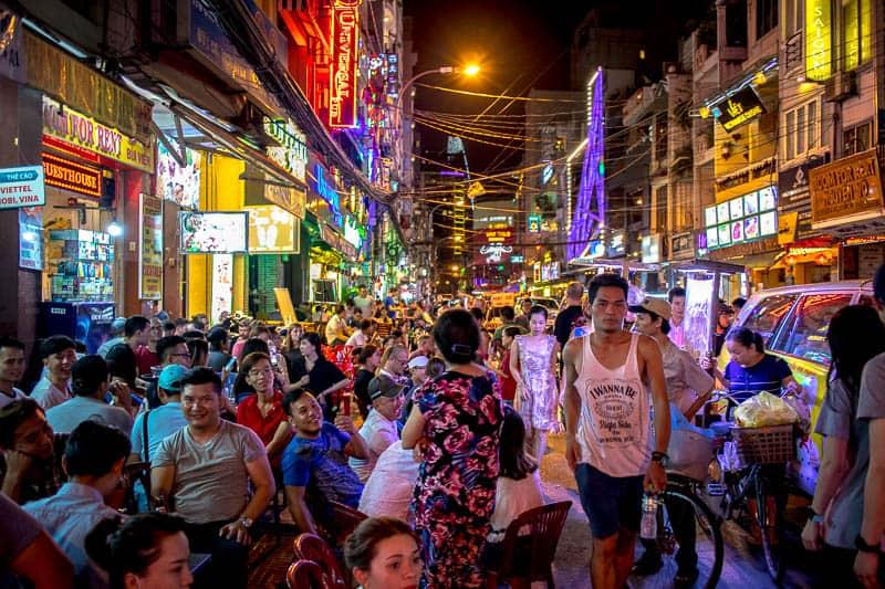 What is Bui Vien street