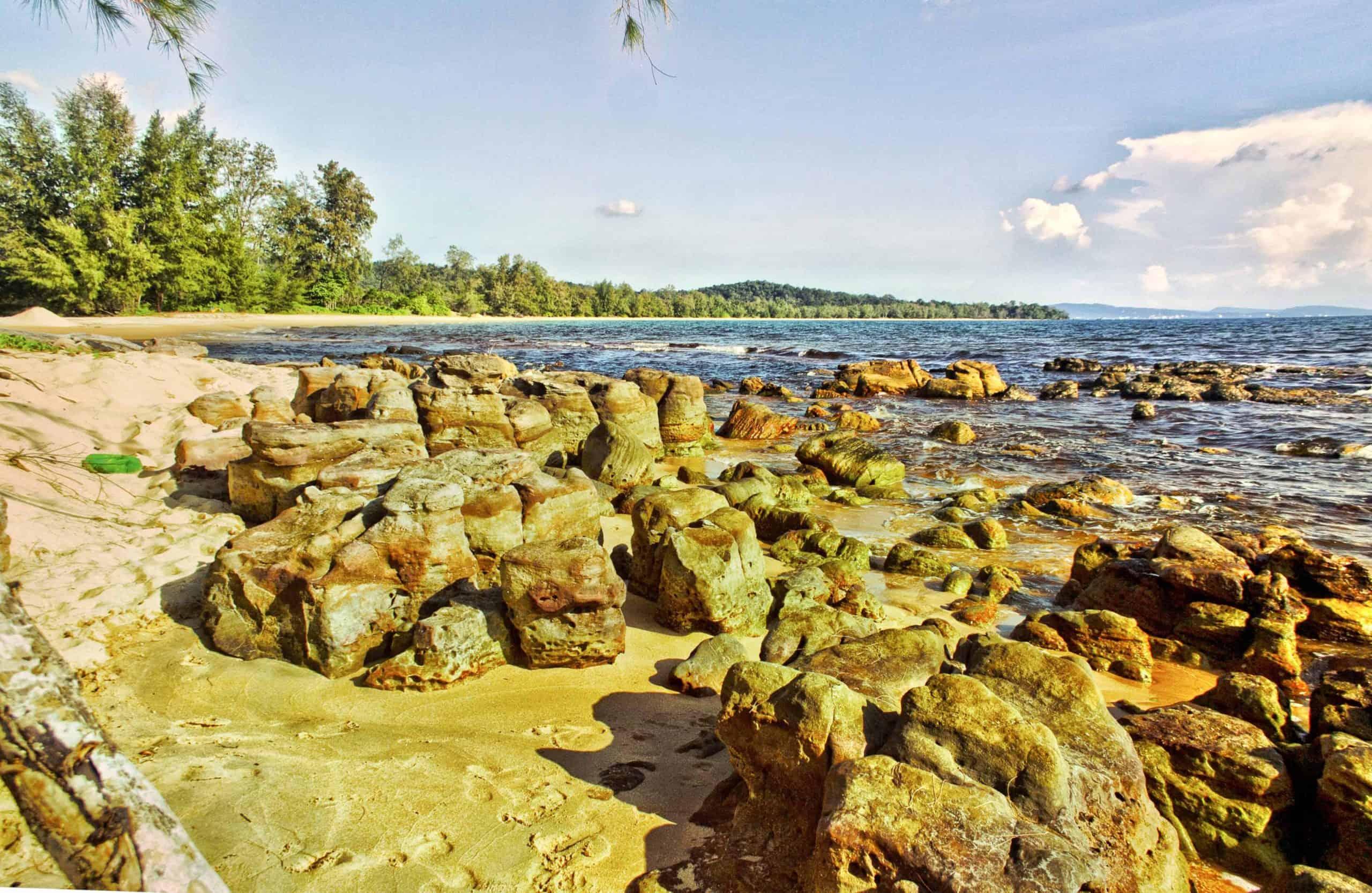 highlights of Vung Bau beach