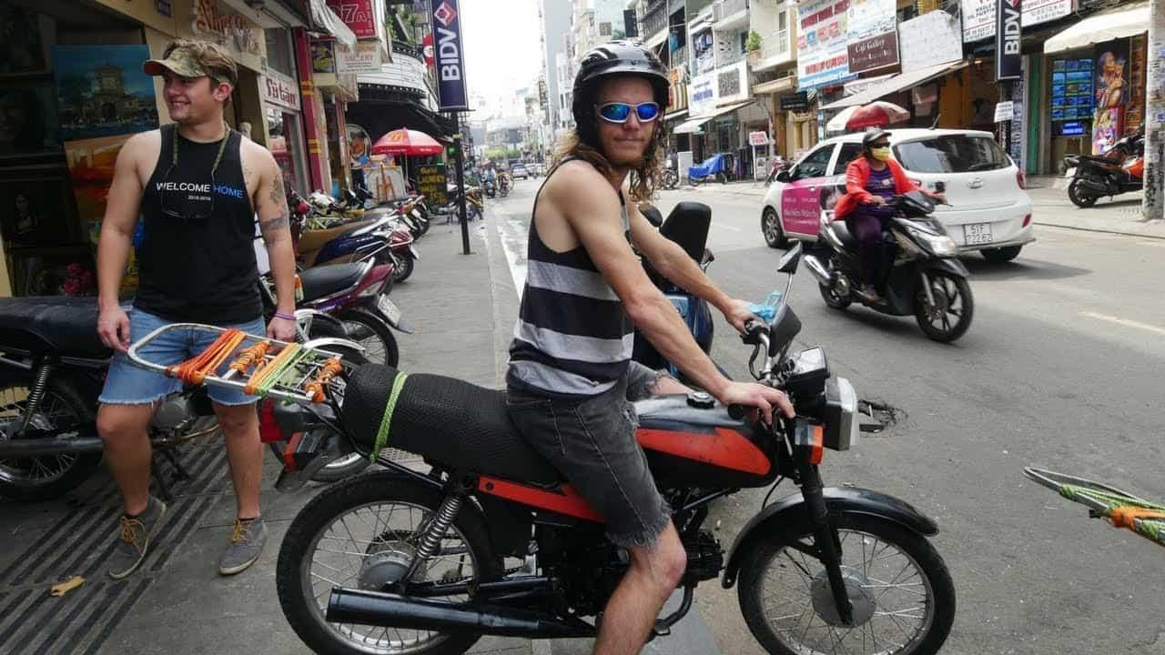 safety of motorbike rental in Vietnam