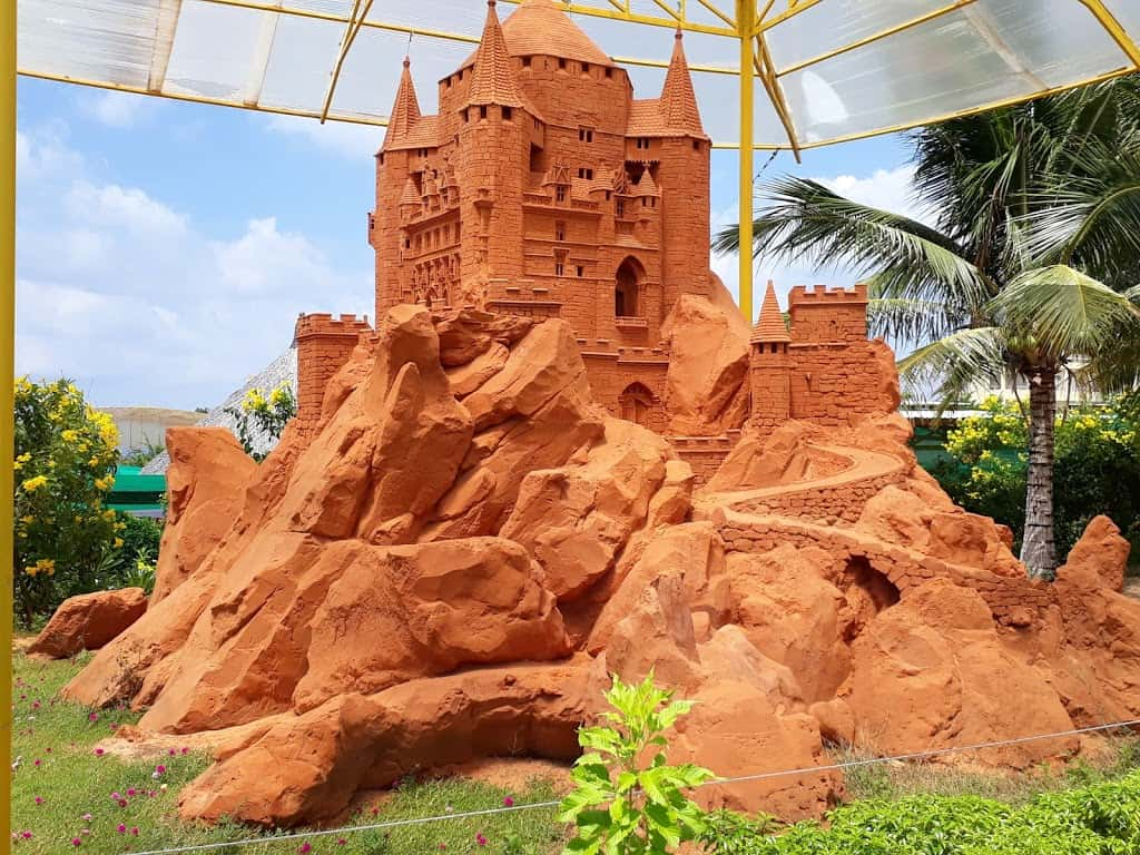 works in Sand Sculpture Park