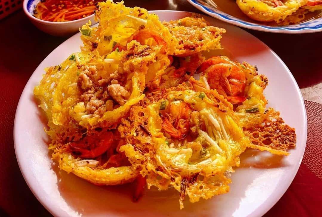 Banh Khot - food in Mekong Delta