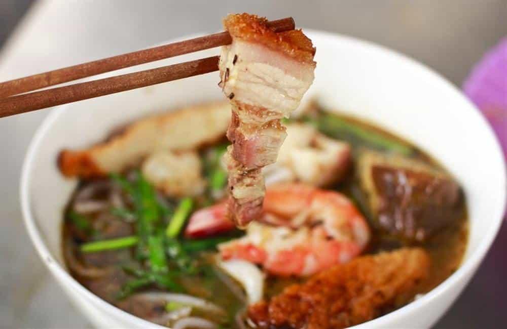Bun mam - best dishes in Mekong Delta