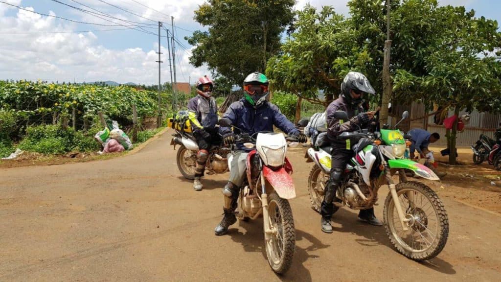 Get to Mekong delta by motorbike