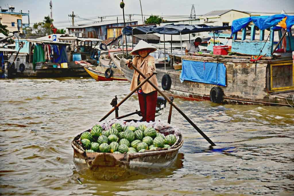 Hau Giang - Mekong delta provinces
