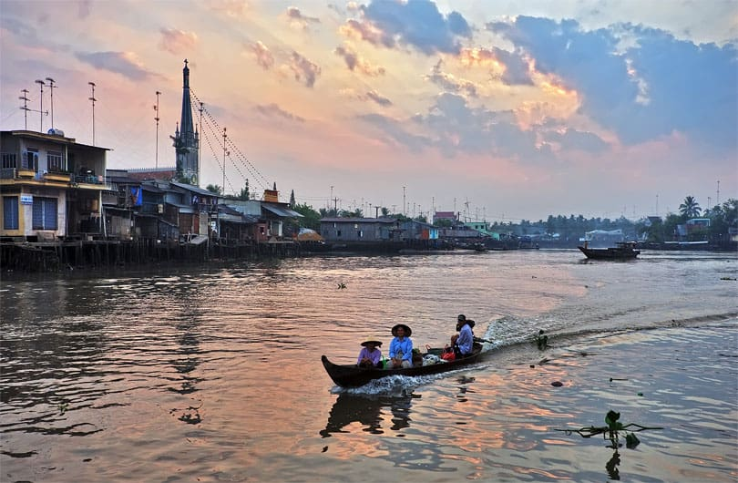 How to get to Mekong delta from Ho Chi Minh City