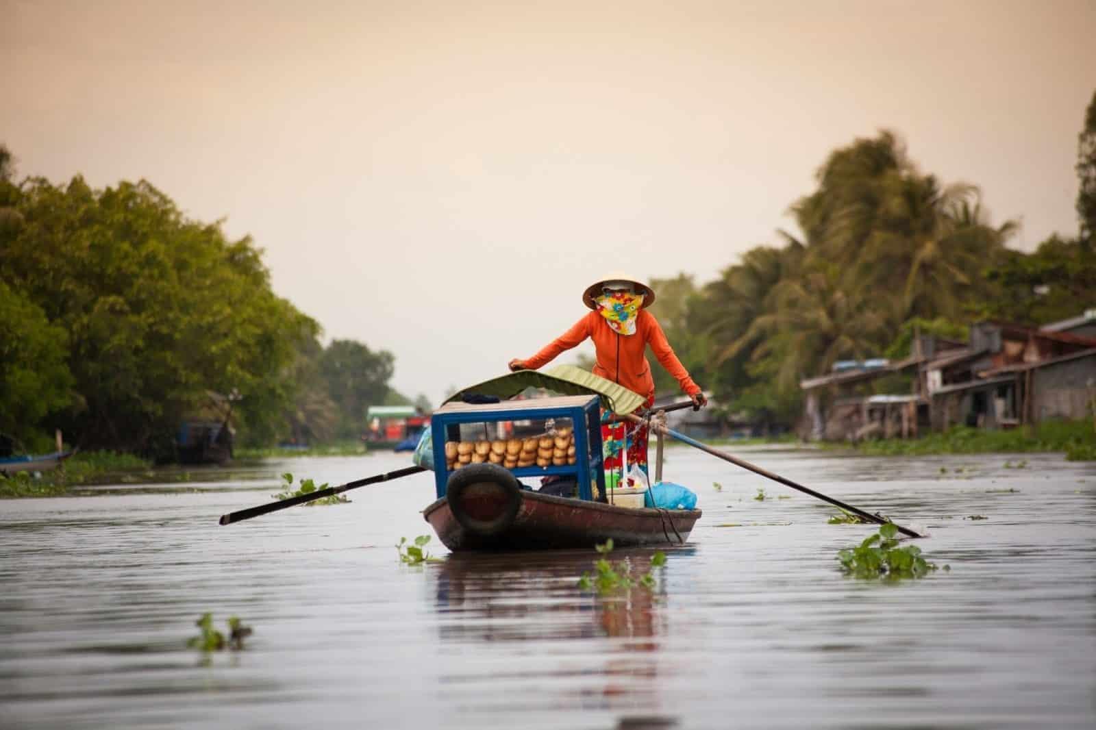 Visit Mekong Delta in Floating season