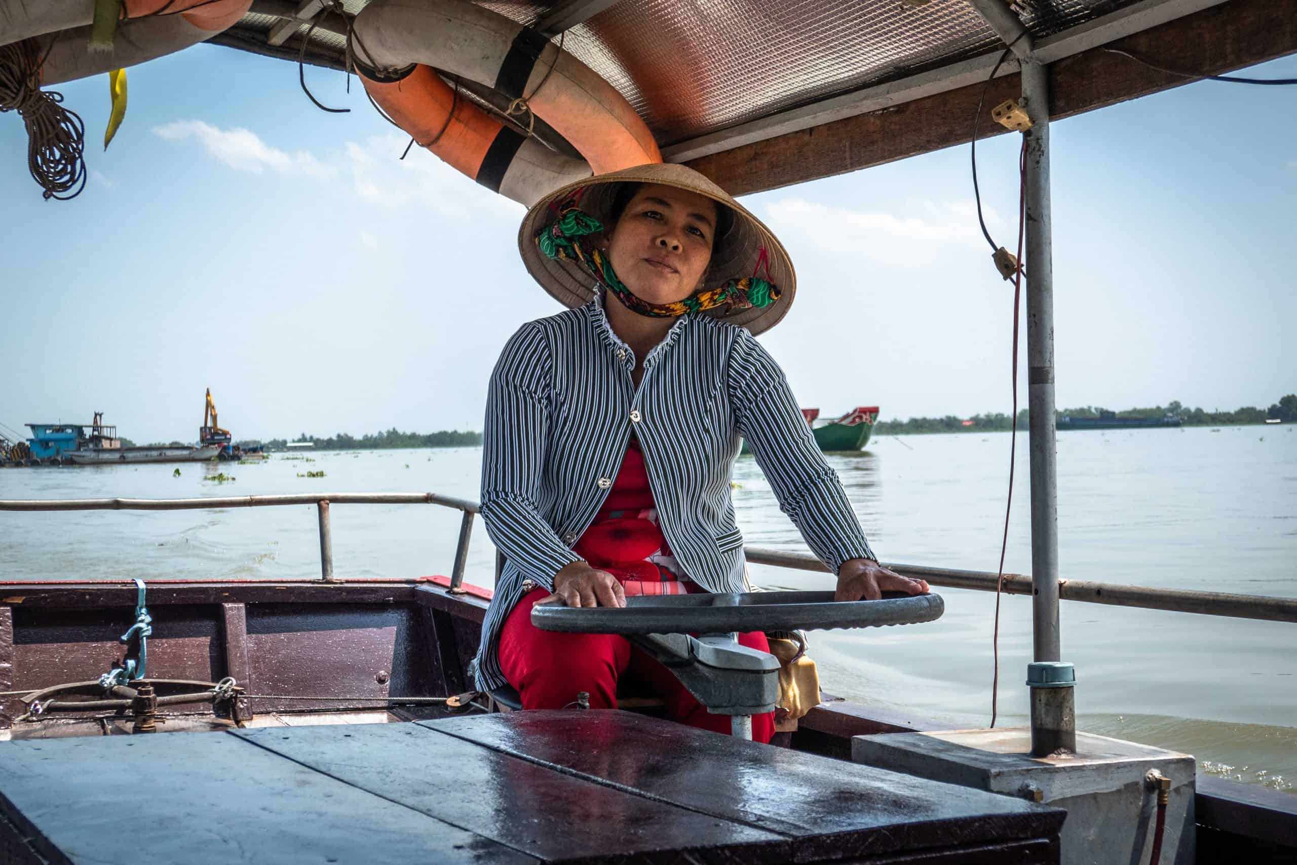 Getting around Mekong delta by boat