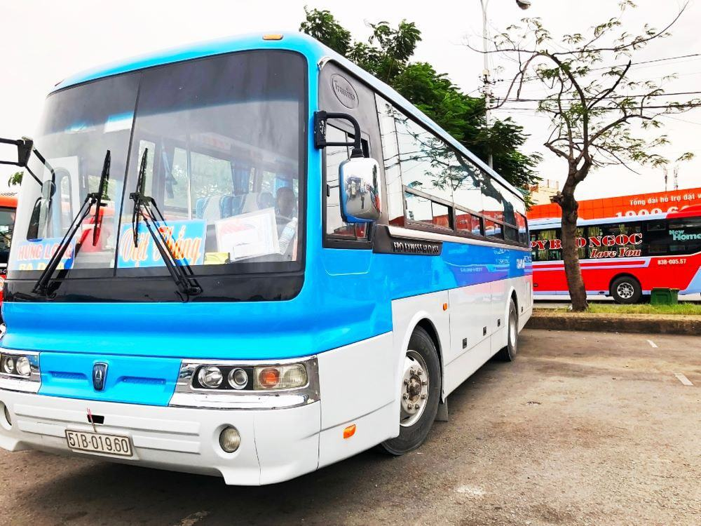 Get to Mekong delta by bus